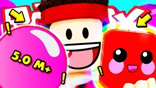 I FIND THE LEGENDARY CANDY IN 100 EGGS!! Roblox ITA (Bubble Gum Simulator)
