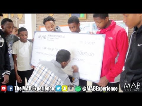 M.A.B. Gives Back To Male Empowerment Program #HipHopDetoxx #MalesIIMen #HardRESET 💯💪🏾