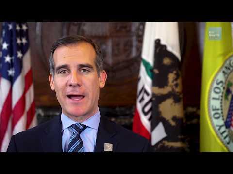 LA Mayor Eric Garcetti Addresses Global Soul