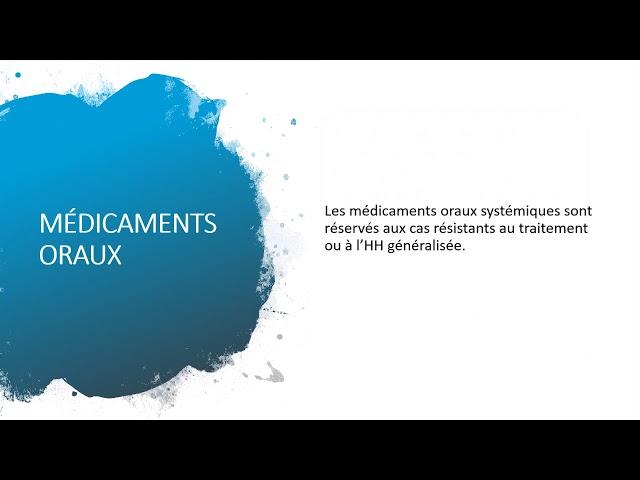 La transpiration excessive - Société Française de Phlébologie
