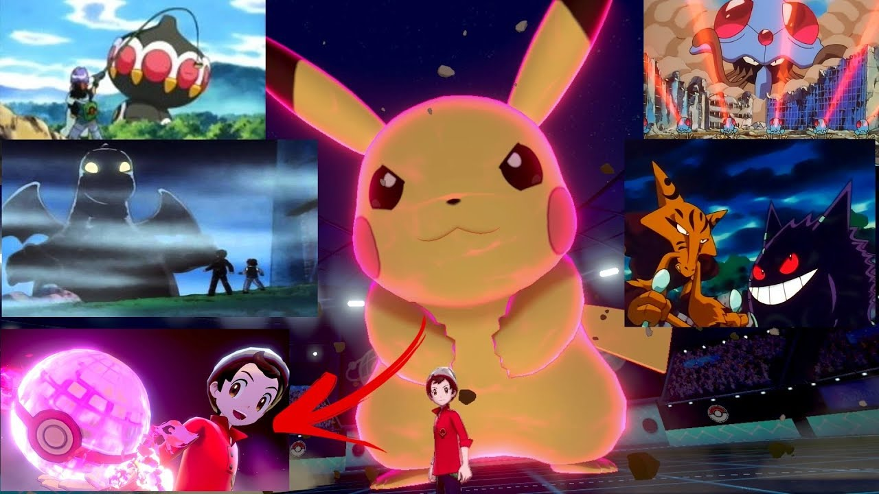 Dynamax History In The Anime Pokemon Sword And Shield Theory Youtube