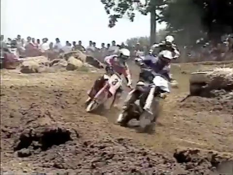 1995 AMA 250cc Motocross Series from Budds Creek Rd4  June 18, 1995