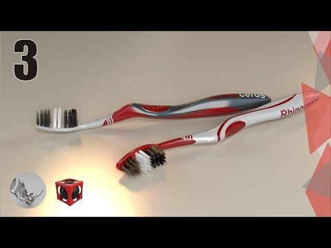 Tutorial Rhino 3D | Modelar un cepillo de dientes (3/9)