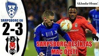 (SİLİNMEDEN İZLE) Sarpsborg 2-3 Beşiktaş - Maç Özeti - 29.11.2018