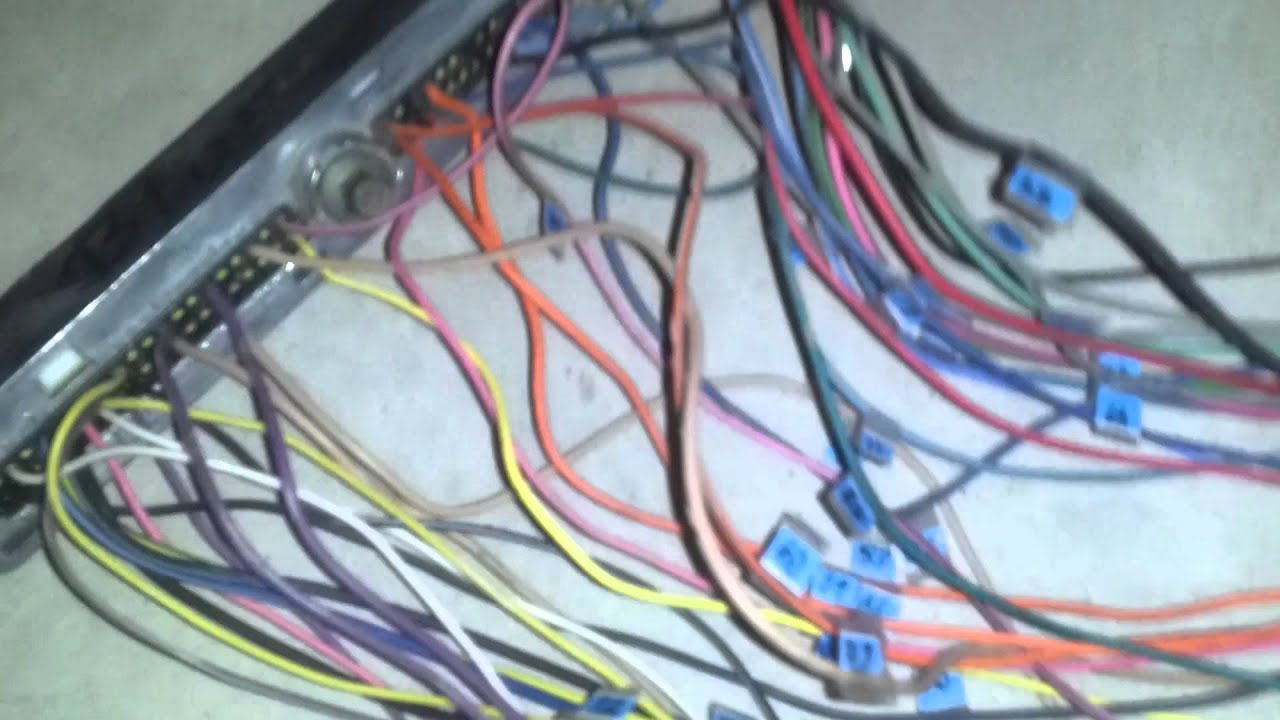 Ls1 Wiring Harness Diagram Vga To Rca Cable Part 4 Lsx 5 3l 4l60e Vortec Youtube