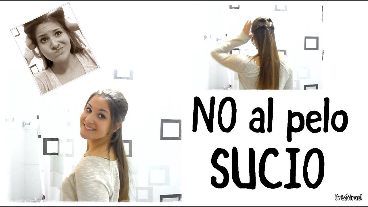 ¿PELO SUCIO? ¡YA NO! Truco + Peinado