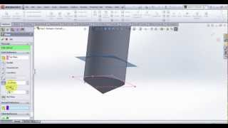 Video Tutorial on Modeling Drill Bit in SolidWorks