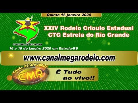 XXIV Rodeio Crioulo Estadual - CTG Estrela do Rio Grande - Estrela-RS