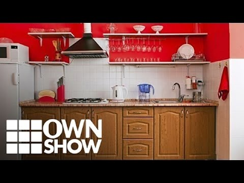 An Unexpected Use for Shower Curtains In The Kitchen | #OWNSHOW | Oprah Online