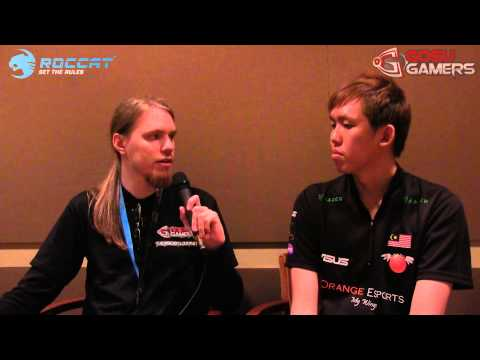 TI3 - Interview with Mushi after beating DK @ Day 4
