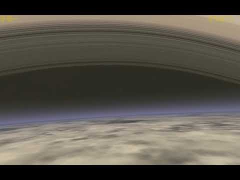 Cassini Grand Finale Atmospheric Disposal Visualized in Orbiter