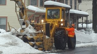 Clinton Ave & Cedar St Snow Removal February 21, 2014