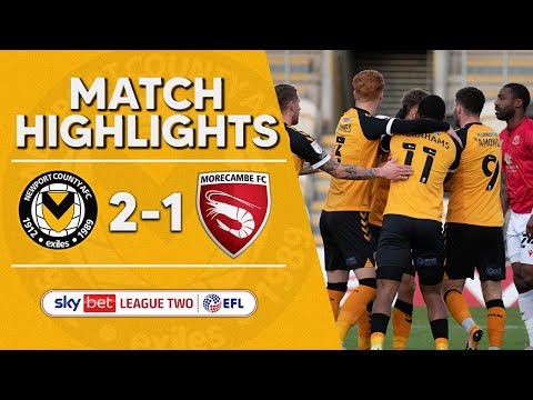 Newport Morecambe Goals And Highlights