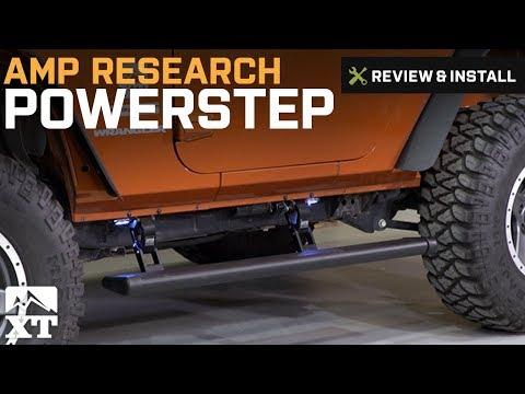 Jeep Wrangler Amp Research PowerStep (2007-2017 JK 4-Door) Review & Install