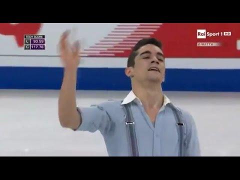 Javier FERNANDEZ (Esp) World Championships 2016 Boston Men's Free Program 01-04-2016