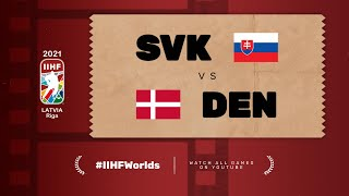 Highlights: SLOVAKIA vs DENMARK | 2021 #IIHFWorlds