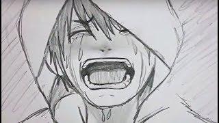 á´´á´° How to Draw Shouting Crying Boy Emotion