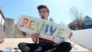 ReVive Splatter Skateboard Setup!