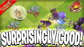 Yeti Walk is the Play for TH6 Pushing! (Clash of Clans)