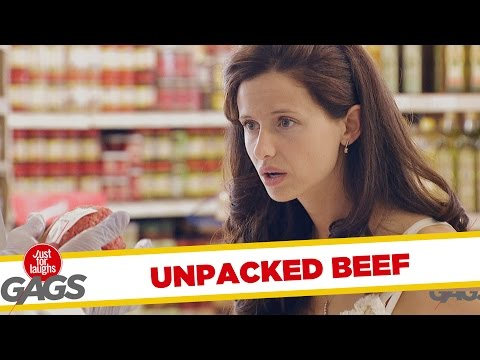 Unpacked Ground Beef Prank