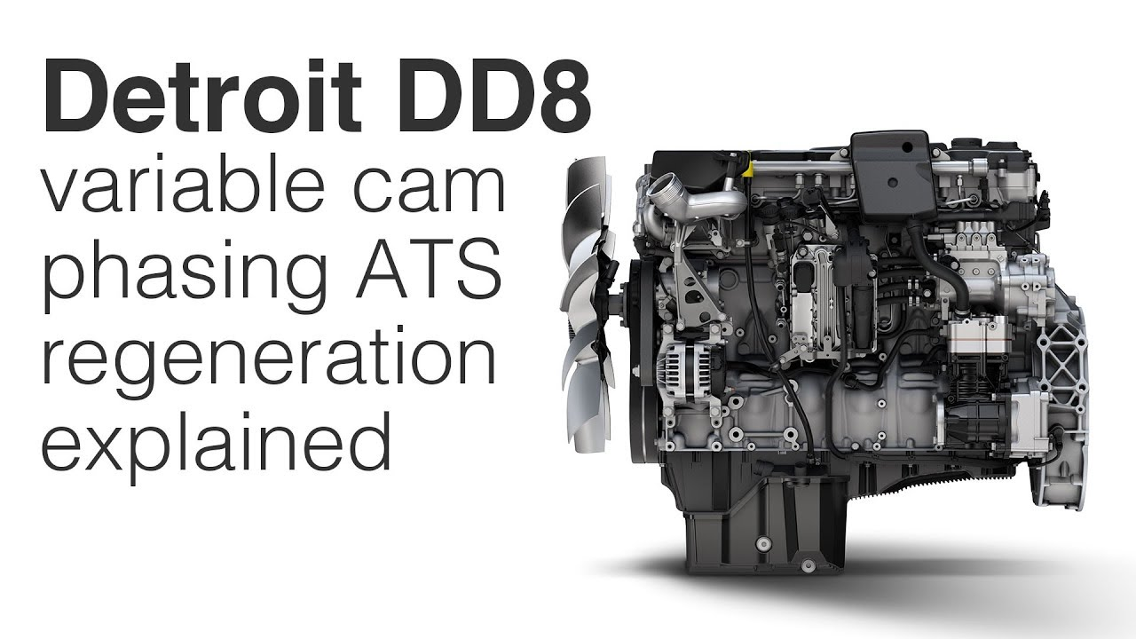 Detroit rolls its new DD8 engine into truck production