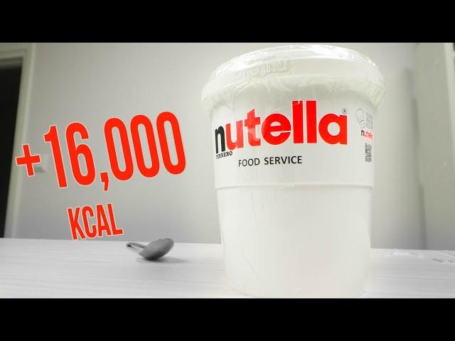 Nutellahaaste (+16,000kcal)
