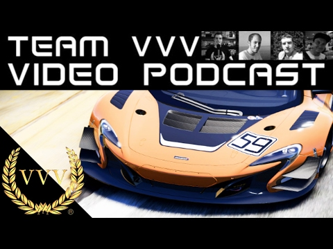 Team VVV Video Podcast 31, Project CARS 2, GTR 3, DiRT 4, Flatout 4