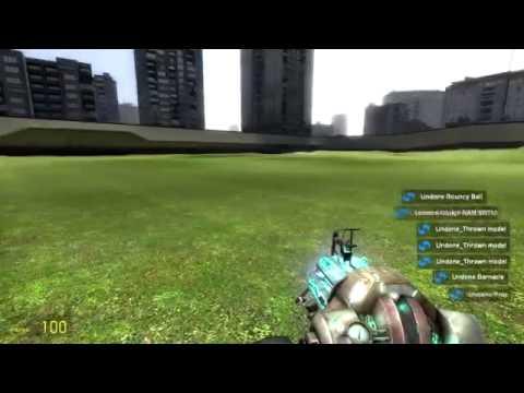 Обзор игры - Garrys mod