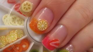 Easy Fruit Nail Art