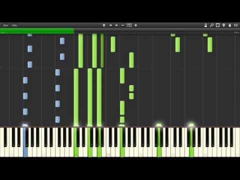 Натали - О Боже, какой мужчина! Piano (Synthesia)