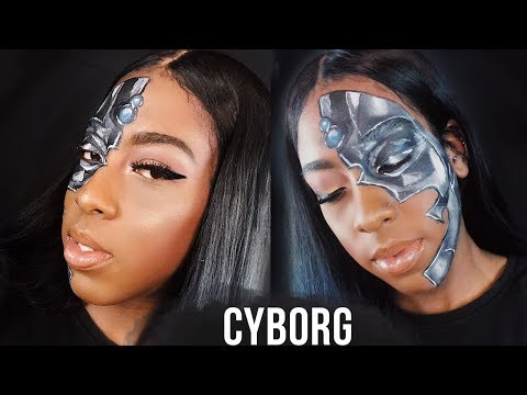 HALLOWEEN SLAY | Female Cyborg  Makeup thumbnail