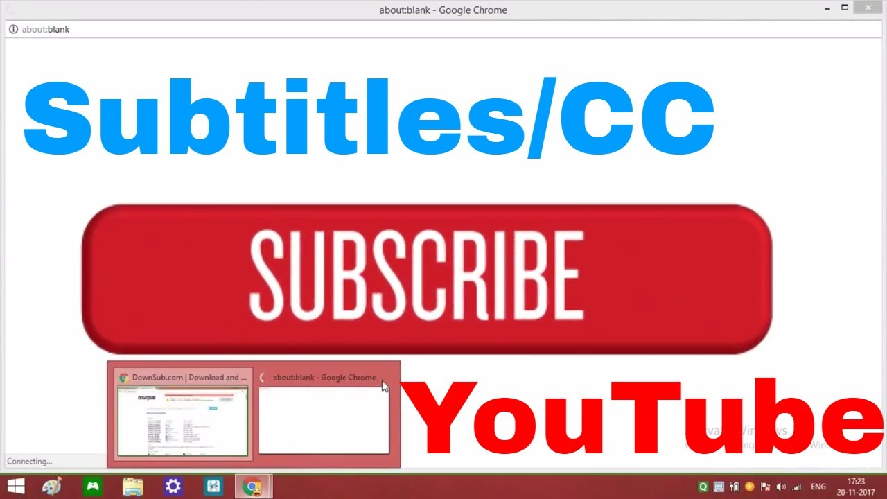 How to download subtitlescc from youtube in any language in 2017 how to download subtitlescc from youtube in any language in 2017 ccuart Choice Image