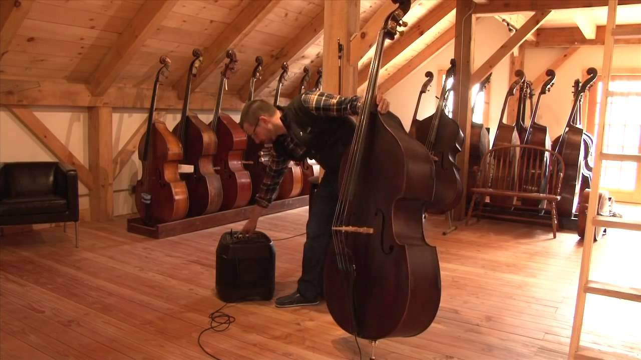 best upright bass pickups installation part two amplification youtube. Black Bedroom Furniture Sets. Home Design Ideas