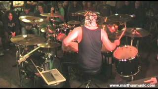 Martin 'Marthus' Skaroupka - Her Ghost In The Fog (Pearl & Sabian drum clinic 2011)