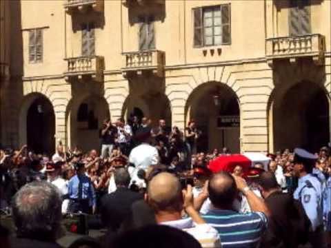 Dom Mintoff's State Funeral - 25th August 2012