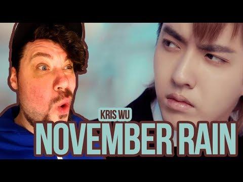 Mikey Reacts to Kris Wu 'November Rain'