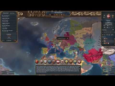 Lets Play Europa Universalis IV: Denmark To Scandinavia - Part 1