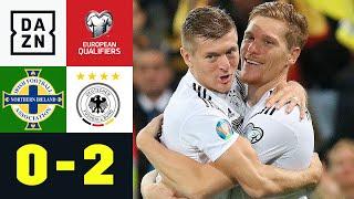 Halstenberg-Knaller macht Weg frei: Nordirland - Deutschland 0:2 | EM-Quali | DAZN Highlights