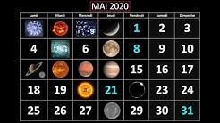 LE MOIS DE MAI 2020 AUX LUMIÈRES DE L'ASTROLOGIE ET DE LA NUMÉROLOGIE