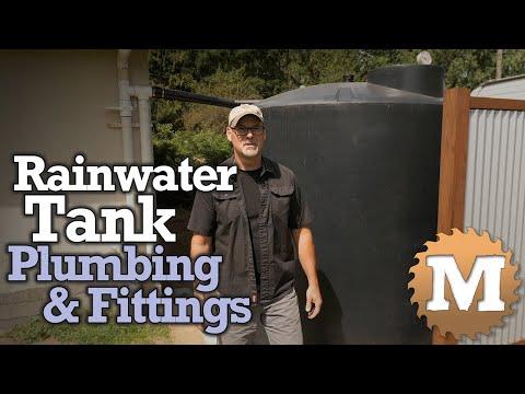 Rainwater Harvesting Tank Plumbing & Fittings