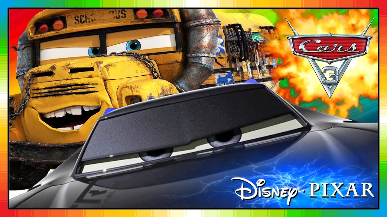cars 3 course vers la victoire jackson storm miss fritter quatre roues les bagnoles youtube. Black Bedroom Furniture Sets. Home Design Ideas