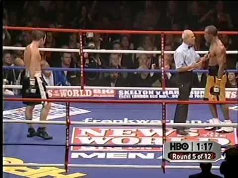 Joe Calzaghe vs Sakio Bika
