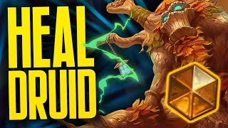 Lucentbark Heal Druid | Part Two | Rise of Shadows | Hearthstone