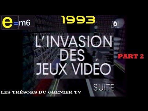 e m6 emission speciale jeux vid o de 1993 2er partie 2 2 youtube. Black Bedroom Furniture Sets. Home Design Ideas