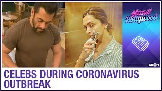 How Celebrities are staying indoors during Coronavirus Outbreak | Bollywood News