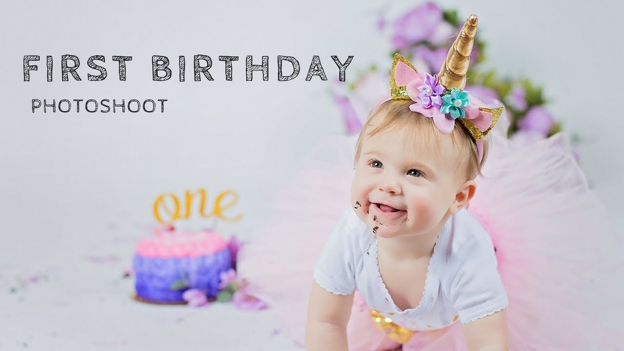 Baby Photo Shoot For First Birthday