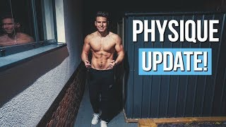 PHYSIQUE UPDATE AFTER 4 WEEKS OF DIETING!!