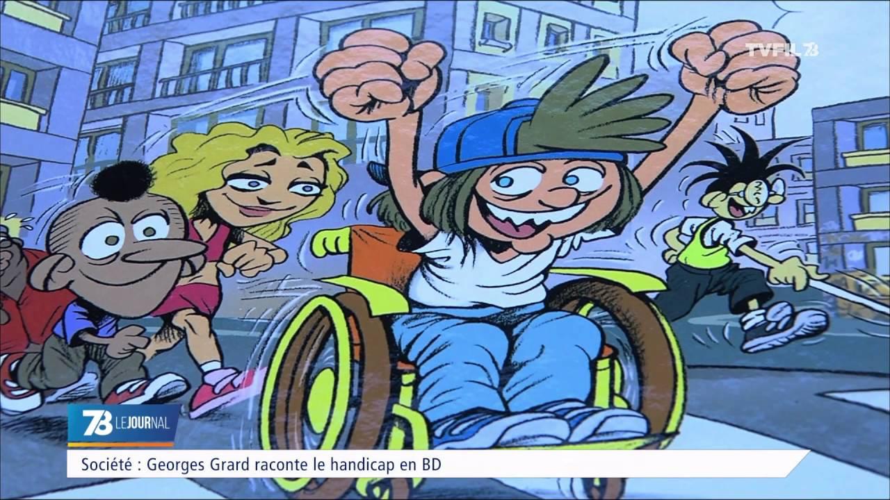 Georges Grard raconte le handicap en BD