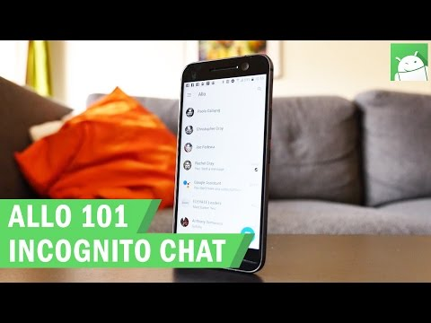 Allo 101: How To Use Incognito Chat