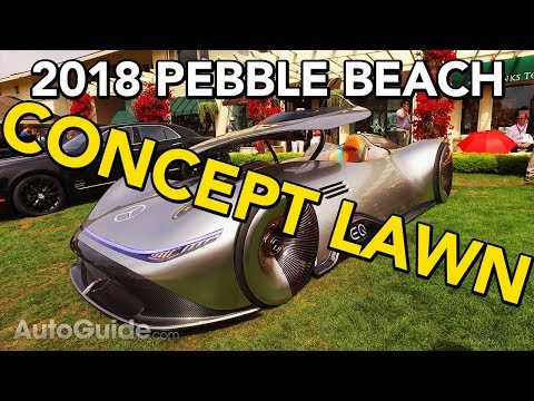 The Craziest Cars on the Concept Lawn at 2018 Pebble Beach / Monterey Car Week - Live Walkaround